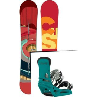 Burton Set: Custom Flying V Wide 2016 + Burton Malavita EST