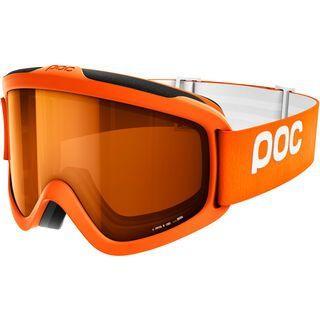 POC Iris X, orange/Lens: sonar orange - Skibrille