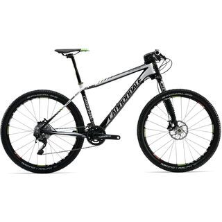 Cannondale Flash Carbon 2 2012, Jet Black/Magnesium White/Berserker Green Accents (Gloss) - Mountainbike