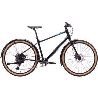 Kona Dew Deluxe 2020, black/blue - Urbanbike