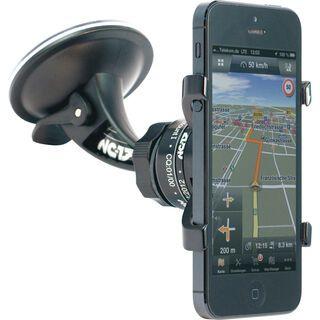 NC-17 iPhone Auto-Halter - Montage an Autoscheibe, black