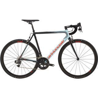 Cannondale SuperSix Evo Hi-Mod Red eTap 2017, blue/black - Rennrad