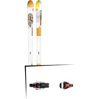 K2 SKI Set: Wayback 82 2016 + Salomon STH2 WTR 16