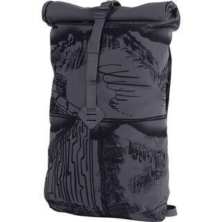 Millican East Pack Roll Pack 18, grey - Rucksack