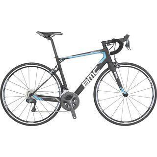 BMC Granfondo GF02 Ultegra Di2 2016, black/blue - Rennrad