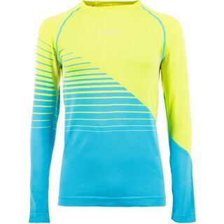 La Sportiva Artic Long Sleeve M, apple green/blue - Funktionsshirt