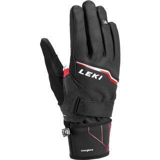 Leki Tour Vision V Plus, schwarz-rot-grau - Skihandschuhe