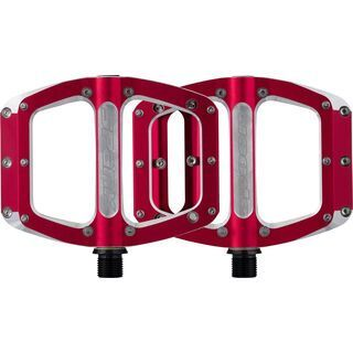 Spank Spoon Pedals, red