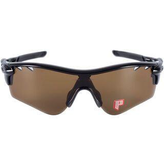 Oakley Radarlock Path Vented, Polished Black/Bronze Polarized & Deep Blue Polarized - Sportbrille