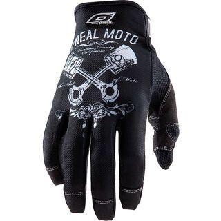 ONeal Jump Gloves Pistons, black/white - Fahrradhandschuhe