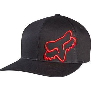 Fox Flex 45 Flexfit Hat, black/red - Cap