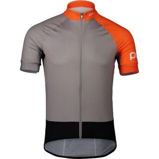 POC Essential Road Jersey, grey/zink orange - Radtrikot