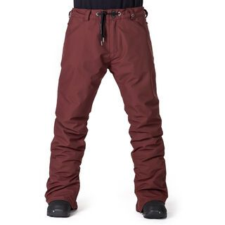 Horsefeathers Cheviot Pants, ruby - Snowboardhose
