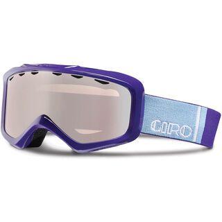 Giro Charm, purple color bars/rose silver - Skibrille