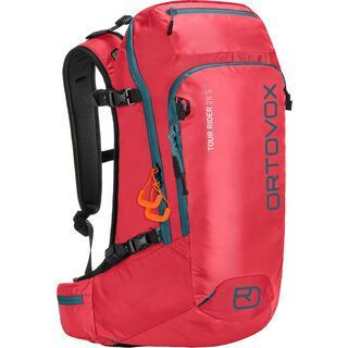 Ortovox Tour Rider 28 S, hot coral - Rucksack