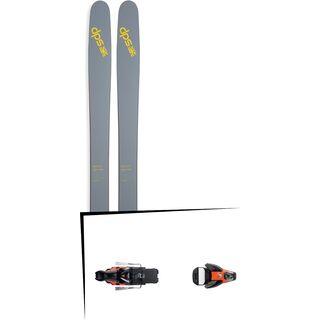DPS Skis Set: Wailer 112 RPC Pure3 2016 + Salomon STH2 WTR 16