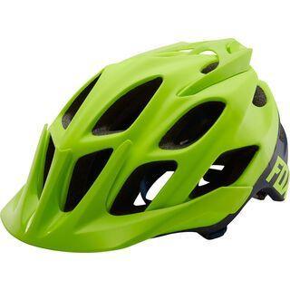 Fox Flux Creo Helmet, fluorescent yellow - Fahrradhelm