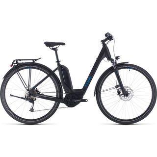 Cube Touring Hybrid ONE 400 Easy Entry 2020, black´n´blue - E-Bike