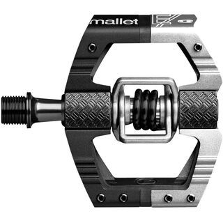 Crank Brothers Mallet E LS, black/silver - Pedale