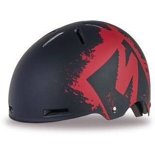 Specialized Covert Kids, red stencil - Fahrradhelm