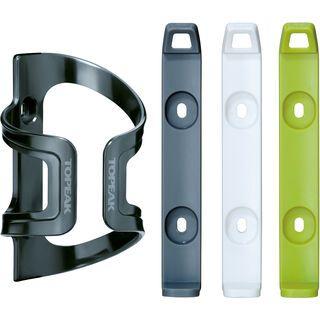 Topeak DualSide Cage EX, grey/white/green - Flaschenhalter