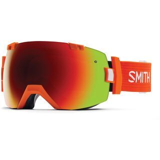 Smith I/Ox + Spare Lens, orange/red sol-x mirror - Skibrille