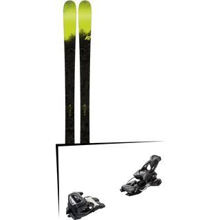 Set: K2 SKI Sight 2018 + Tyrolia Attack² 14 AT solid black