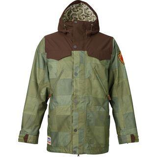 Burton Folsom Jacket, patchouli mocha - Snowboardjacke