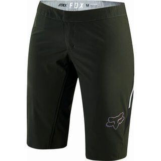 Fox Womens Attack Short with Liner, black - Radhose