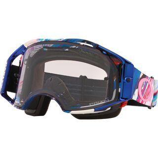 Oakley Airbrake MTB Prizm Kokoro by Meguru, blue/Lens: prizm low light - MX Brille