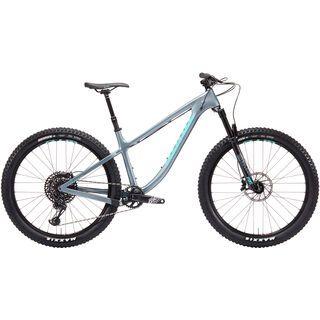 Kona Big Honzo CR/DL 2019, silver w/ mint - Mountainbike