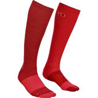 Ortovox Merino Tour Compression Socks W dark blood