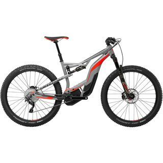 Cannondale Moterra 2 2017, grey/hz orange/anthracite - E-Bike