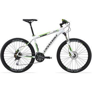 Cannondale Trail 4 2014, weiß - Mountainbike