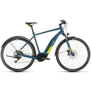 Cube Nature Hybrid EXC Allroad 2020, blue´n´lime - E-Bike