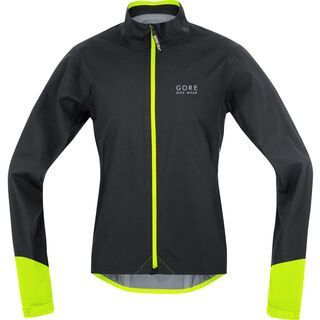 Gore Bike Wear Power Gore-Tex Active Jacke, black neon yellow - Radjacke