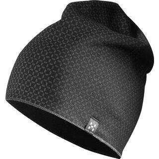 Haglöfs Fanatic Print Cap, true black/magnetite - Mütze