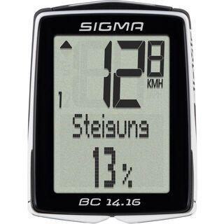 Sigma BC 14.16, schwarz - Fahrradcomputer