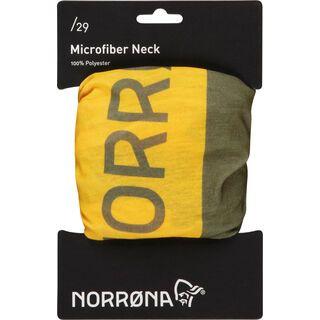 Norrona /29 microfiber Neck, olive drab - Multifunktionstuch