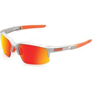 100% Speedcoupe, arc-light/Lens: orange mirror - Sportbrille