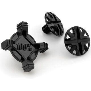 100% Status Visor Screw Kit, black - Schraube