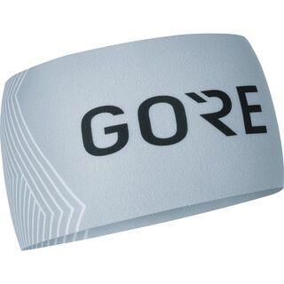 Gore Wear M Opti Stirnband, light grey/white