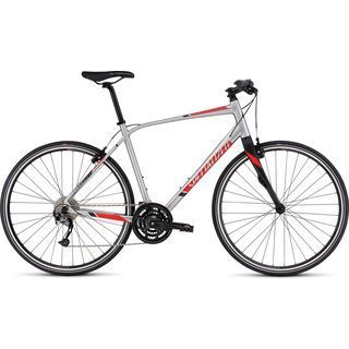 Specialized Sirrus Elite 2016, brushed/red/black - Fitnessbike