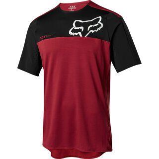 Fox Attack Pro SS Jersey, red/black - Radtrikot