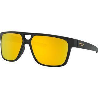 Oakley Crossrange Patch, matte black/Lens: 24k iridium - Sonnenbrille