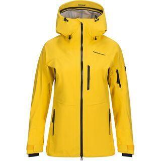 Peak Performance W Gravity Jacket, desert yellow - Skijacke