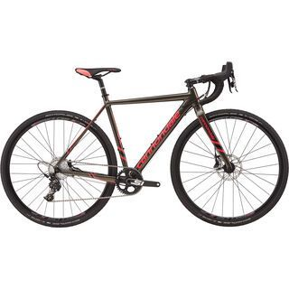 Cannondale CAADX Women's Apex 1 2017, anthracite/black/strawberry - Crossrad
