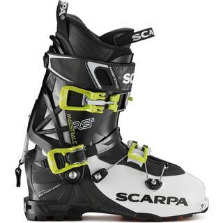 *** 2. Wahl *** Scarpa Maestrale RS 2 2019, white/black/lime - Skiboots | Größe 27,5 // 9,5
