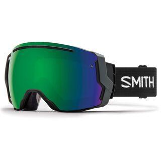 Smith I/O 7 inkl. Wechselscheibe, black/Lens: sun green mirror chromapop - Skibrille
