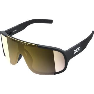 POC Aspire Clarity Gold uranium black